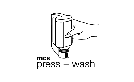 mcs press + wash