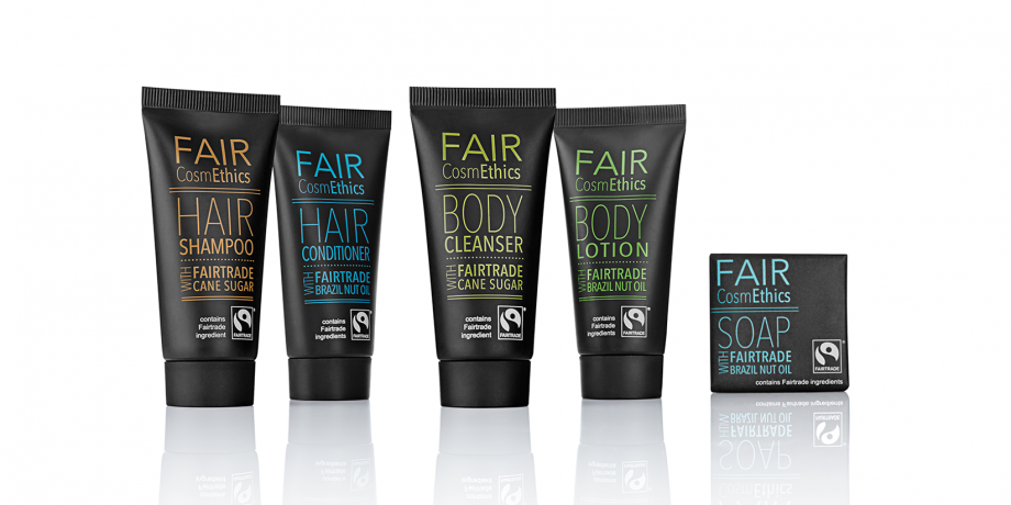 FAIR CosmEthics BODY & HAIR Collection mit Schatten