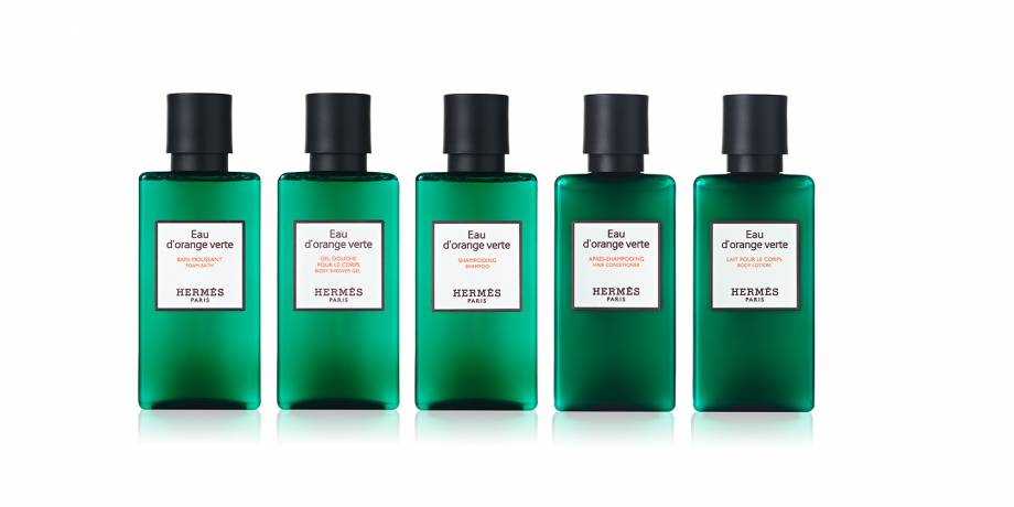 Hermès Paris Eau d'orange vert komplette Collection