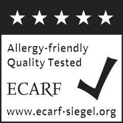 ECARF Allergy-friedly Quality Tested Logo
